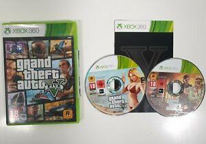Grand Theft Auto V - GTA 5 - (Xbox 360) - PAL - Manual + both discs included!