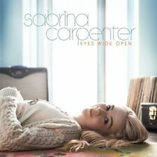 Eyes Wide Open by Sabrina Carpenter (Audio CD)