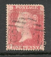 QV Line engraved 1d red  -- penny red star Sg 36 Spec C11 plate 56 ( P F )