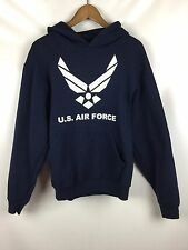 U.S. Air Force Navy Blue Hoodie Sweatshirt Pullover Large L