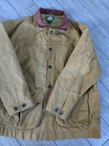 CABELAS duck cotton WORK jacket XL coat hunting