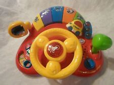 """Vtech Learn & Discover Driver Toddler Motor Skills Sound Light Sturdy Toy 11"""""""