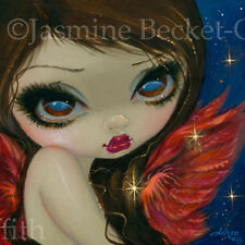 Fairy Faces 210 Jasmine Becket-Griffith art faery star angel SIGNED 6x6 PRINT