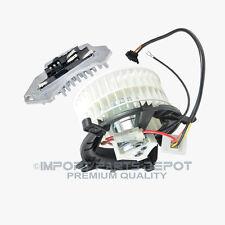 AC Heater Blower Motor + Regulator Resistor Mercedes-Benz E320 E420 E300 E430