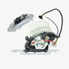 Mercedes-Benz AC Heater Blower Motor + Regulator Resistor Premium Quality 210
