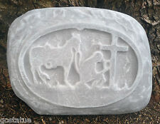 Praying cowboy rock mold durable abs plastic