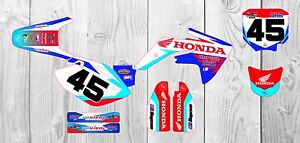 Honda CRF150 GRAPHICS KIT 1997 -2016  Customised motocross graphics All Years MX