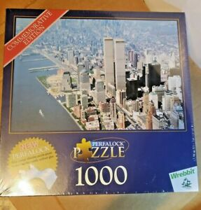 WREBBIT TWIN TOWERS COMMEMORATIVE EDITION  PERFALOCK PUZZLE, GREAT COLLECTIBLE!