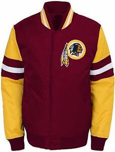 Outerstuff NFL Football Youth Boys Washington Redskins Legendary Varsity Jacket