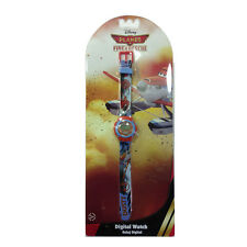 AVIONS montre à bracelet rouge et bleu DUSTY numérique plastique pour enfant