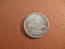1959 canada 10 cent silver coin