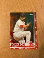 2019 Topps Series 2 - Brian Johnson - #522 Independence Day Parallel #d 69/76