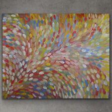 GLORIA PETYARRE, BUSH MEDICINE LEAVES, Aboriginal Art 201 x 162 cm w/ COA
