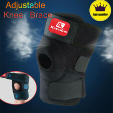 Adjustable Knee Brace Open Patella Support Elastic Sports Gym Leg Wrap Kneecap