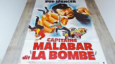 bud spencer CAPITAINE MALABAR DIT LA BOMBE  !  affiche cinema