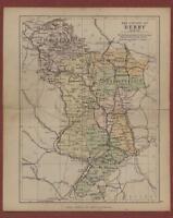 Derby.   1898.  Map.  George Philip  L.512
