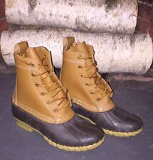 ll bean boots brand new size 6 tan and brown