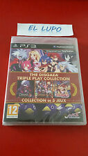 THE DISGAEA TRIPLE PLAY COLLECTION PS3 SONY NEUF SOUS BLISTER VF
