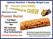 PEANUT BUTTER BAR Weight Loss Meal Replace   1 Case   SIMILAR TO Optifast® 800