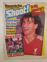 Shoot : 26th October 1985 : Vintage UK Football Magazine