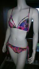 Rampage Two Piece Paradise Bikini Swimsuit NWT Sz L