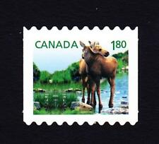 Canada MNH die cut from booklet 2012 sc# 2512i Baby Wildlife $1.80 Moose