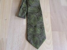 VINTAGE Paisley Pattern di tipo Poliestere Tie Da Tootal