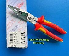 Knipex 1 x Elekto-Installationszange 13 86 200