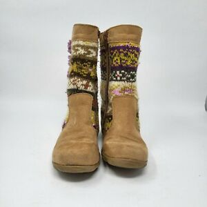 Stride Rite Toddler Girl Size 10 1/2 Multicolor Knee High Boots
