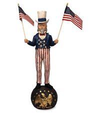 "Bethany Lowe Designs Americana ""Uncle Sam"" Large Tj2401"