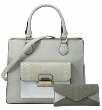 Faux Snakeskin Handbags Medium Shoulder Bags
