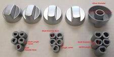 Knobs Silver 5pk Universal Oven