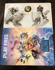 World of Warcraft ALABASTER MOUNT ONLY - 15th Anniversary Collectors Edition WOW