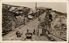 Camborne photo. Greaves's Slate Quarries. Incline by Burrow, Camborne. Railway.