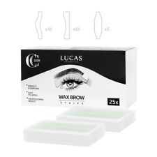 CC Brow Wax Strips Kit Eyebrow Shaper Waxing Hair Removal 3 Types in Set