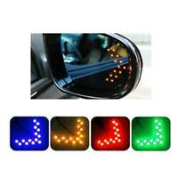 2 × Car Side Rear View Mirror 14-SMD LED Lamp Turn Signal Light Accessories Kit