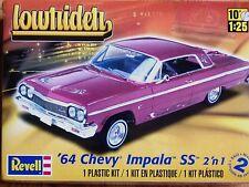 REVELL Monogram 1:25'64 CHEVY IMPALA SS Lowrider kit modello di auto
