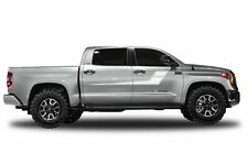 Vinyl Decal Side Stripe Wrap for Toyota Tundra CrewMax Pickup 14-17 Matte White