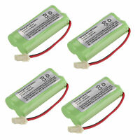 Lot of 4pcs Cordless Home Phone Battery Pack for AT&T BT166342 TL32100 TL90070