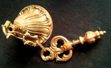 Ancien plafonnier chaîne suspension lustre  bronze doré  pièces détachées