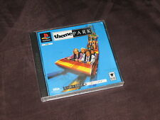 Playstation 1 Theme Park VGC - PAL Buy It Now - Free Postage