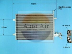 Auto Air Air Conditioning Condenser 16-1319 Fits FORD