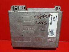 RENAULT ESPACE 2 2.0i CALCULATEUR MOTEUR ECU REF 7700851739 S100820101B