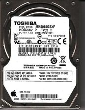 Toshiba MK5065GSXF HDD2J62 P TV02 T 500GB SATA 2.5 HDD 5622
