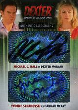 Dexter Seasons 7 & 8 Autograph Card DAMY Michael C. Hall and Yvonne Strahovski
