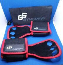 Gymnastics Grips - Crossfit Gloves - Workout 3 Finger Gloves Wrist Wraps Leather