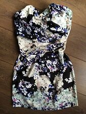 LIPSY BANDEAU DRESS.SIZE 10