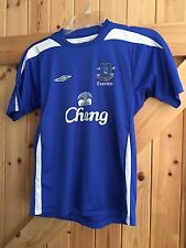"""Everton Football Club Shirt / Top Size MB Chest 30""""-32"""" In Great Condition"""