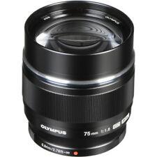 Olympus M.Zuiko Digital ED 75mm f/1.8 Lens (Black)