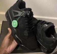 Air Jordan 4 Retro Black Cats Uk Size 10
